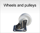 Wheels and pulleys