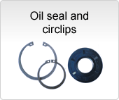 Oilseals and circlips